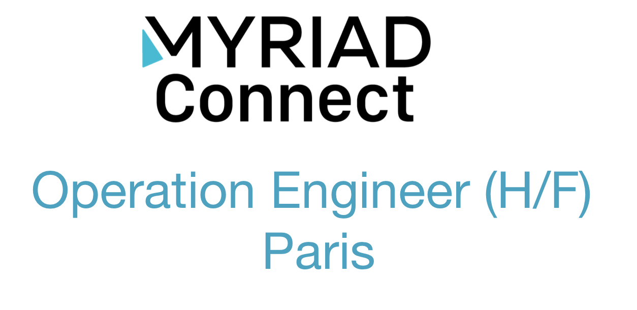 Operation Engineer (H/F) Paris